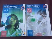 AS & Alevel biology textbooks