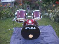 tama swingstar drum kit.