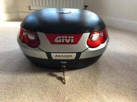 Givi E55 (55L) Top Box with Universal Mounting Plate