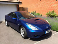 Toyota Celica, 2003, Lagoon Blue, 83k miles, good condition