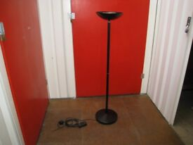 Lighting Stand with Up-Lighter & 300w Dimmer Switch