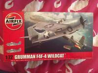 The Airfix 1/72 Grumman Wildcat F4F-4