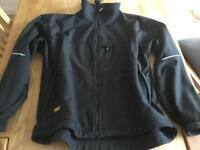 Snickers 1212 Soft Shell Work Jacket Black XXL