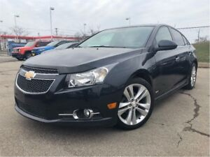 2014 Chevrolet Cruze 2LT RS LEATHER SUNROOF REAR CAMERA