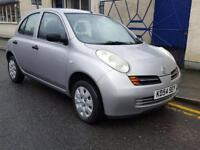 NISSAN MICRA 1.2 S 5dr (silver) 2004
