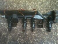*** Vw Golf Mk2 GTI Fuel Rail And Injectors - PB Engine *** £40
