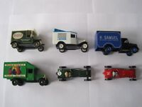 Model cars and vans collection for sale. 12 cars and vans from 1980's/1990's
