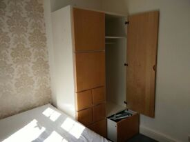 Ikea wardrobe and matching chest of drawers - good and clean condition