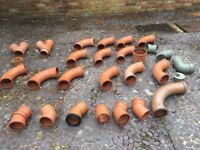Job-Lot below ground Drainage elbows Ts and Y section pipes/2
