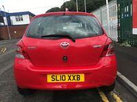 2010 10 Toyota Yaris Tr Vvt-I 1.3 Petrol 6 Speed Manual Low Miles £30 Tax