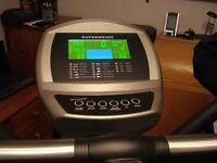 SEG 1626 ELLIPTICAL TRAINER High spec cross trainer User programmable 16 levels of resistance