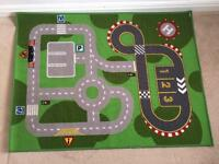 Children's car play mat