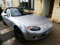 Mazda MX-5 mk 3. Great little sports car. In good overall condition. Lovely drive.