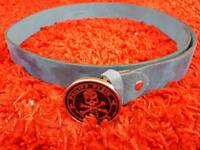 Philip Plein leather belt