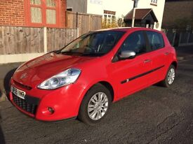 RENAULT CLIO 2010 RED GREAT CONDITION FULL SERVICE HISTORY