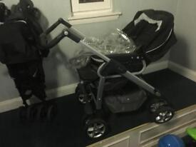 Silver Cross pram, buggy & car seat