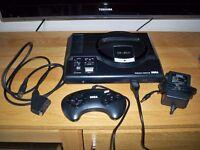 SEGA Mega Drive Console (50/60Hz + Language Switches PAL/NTSC)