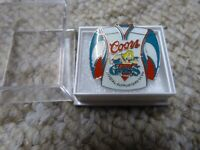 old collectible vintage badge Coors Giants Official Supports Club