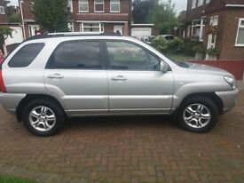 Kia Sportage XS 4x4. 2 owners from new. 60,000 miles only.Genuine reason for sale