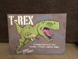 Dinosaur T-Rex Canvas picture
