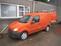 Renault Kangoo 1.9d van with complete window cleaning system