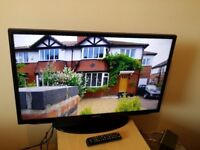 """Great condition 32"""" SAMSUNG LED TV hd ready freeview inbuilt"""