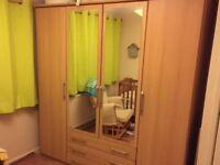 Large 4 door wardrobe vgc could deliver