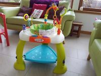 Bright starts bounce bounce baby activity centre