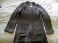 New with Tags Ladies Size 10/12 Knitted Cardigan LEICESTER