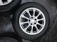 Mercedes Benz C Class 16 inch alloy wheels w204 good condition fit 2007-2014