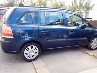 cheap, Vauxhall Zafira, very low mileage, and very low price, Excellent condition