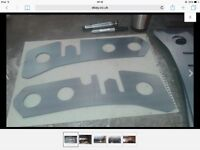 Nissan d40 chassis plates