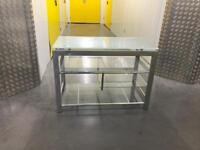 Solid glass table unit/TV stand, Free delivery