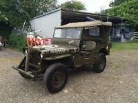 WILLYS MB/FORD GPW/HOTCHKISS JEEP