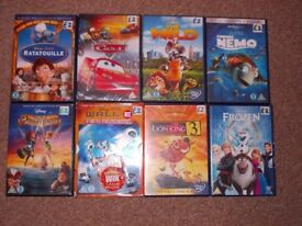 KIDS DVDS AND DISNEYS SOME ARE NEW AND SEALED