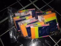 New tesco sticky note pads-job lot