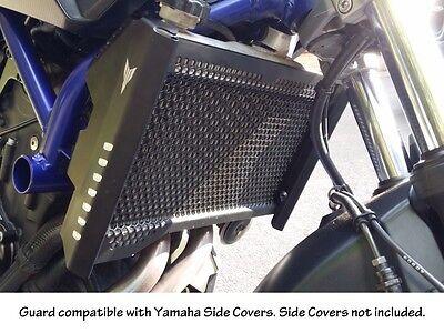 Yamaha MT-07 Radiator Guard FZ-07 Rad Cover 2014 2015 2016. Stainless Steel.