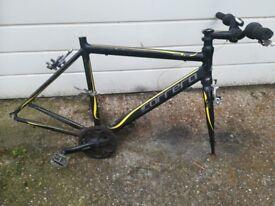 Carrera bike frame. Aluminium frame Very light.