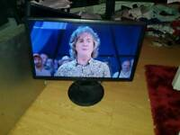 Iiyama 24inch b24d09hds lcd wideacreen monitor with hdmi. Speakers dvi etc. Plus stand
