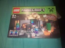 New sealed Minecraft lego
