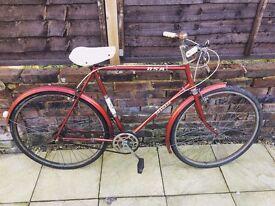Vintage 60's BSA Granada Town Bicycle Gents