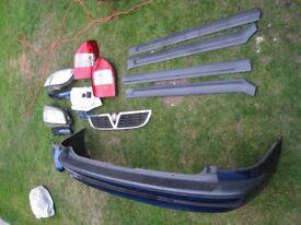 vauxhall zafira parts / breaking 1998-2005 rear bumper grille strip head light mirror rear cluster