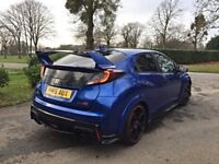 2016 HONDA CIVIC 2.0 I-VTEC TYPE R GT 5DR 306BHP *DAMAGED REPAIRED* BARGAIN!!! PX WELCOME