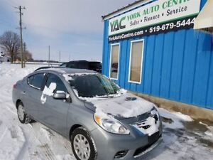 2012 Nissan Versa 1.6 SV CVT; A/C, P/Windows/Locks/ABS