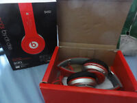 Dr Dre wireless foldable A2DP headphones with FM radio TF sd card mp3 player for ipod iphone tablet