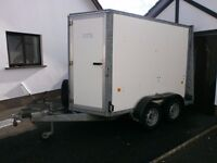 2009 IFOR WILLIAMS 8X5X6 BOX TRAILER