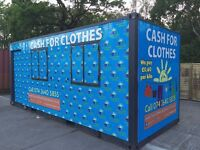 LOOKING TO RENT WAREHOUSE, WORKSHOP, SHOP, PARKING SPACE OR ANY UNIT TO DO CASH FOR CLOTHES