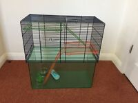 Hamster and Gerbil Cage