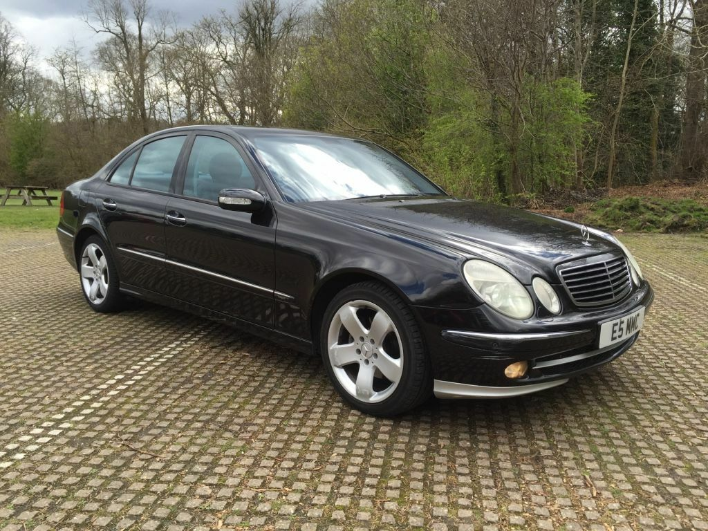 2005 mercedes e320 cdi avantgarde turbo diesel auto box for 2005 e320 mercedes benz