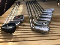 Dunlop Max irons with XPT PW and a spare Titleist 7
